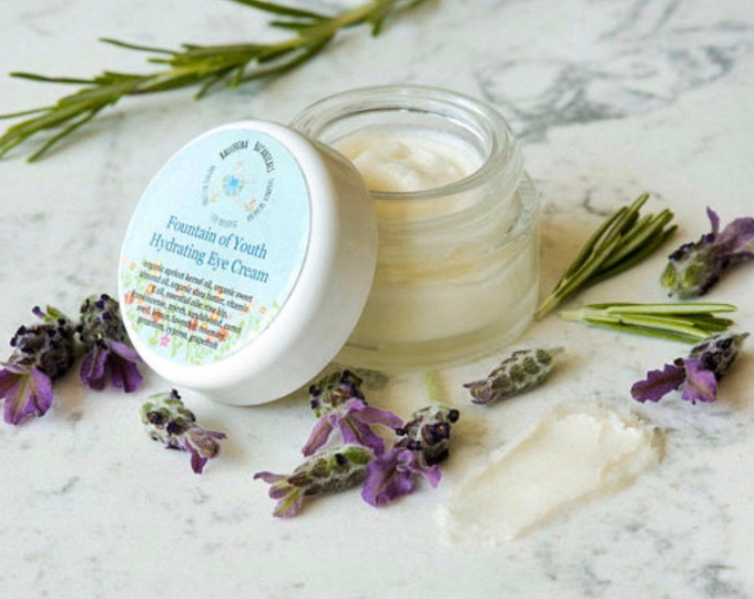 Organic Eye Cream | With Shea Butter, Vitamin E, and 11 Essential Oils for Puffy Eyes |Dark Circle Cream, Anti Aging, Age Spots, and Wrinkle