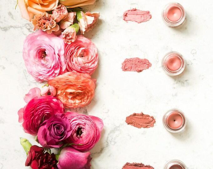 Lip and Cheek Tint | Lip Tint with Jojoba Oil and Argan Oil in shade La Bayadere | Cheek Tint | Mineral Makeup | Natural Lip Tint