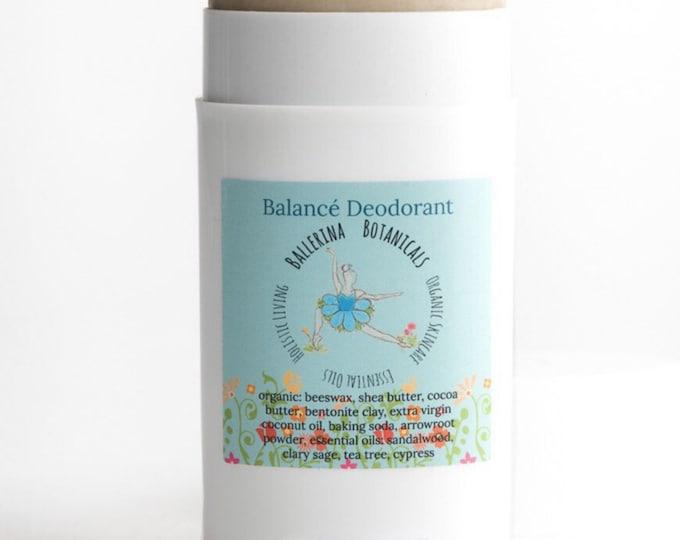 Organic Deodorant | Bentonite Clay, Sandalwood, Tea Tree, Cypress, and Sage | Clay Deodorant For Deodorizing, and Detoxifying