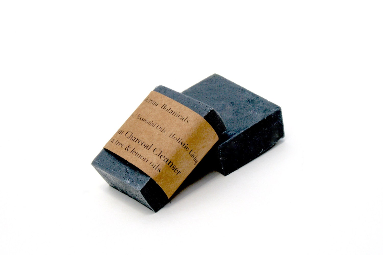 Charcoal Soap | With Lemon & Tea Tree Essential Oils and Activated