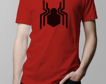 Spiderman New Logo Spidey Symbol Captain America Civil War Movie Inspired T-shirt. Male and Female Apparel