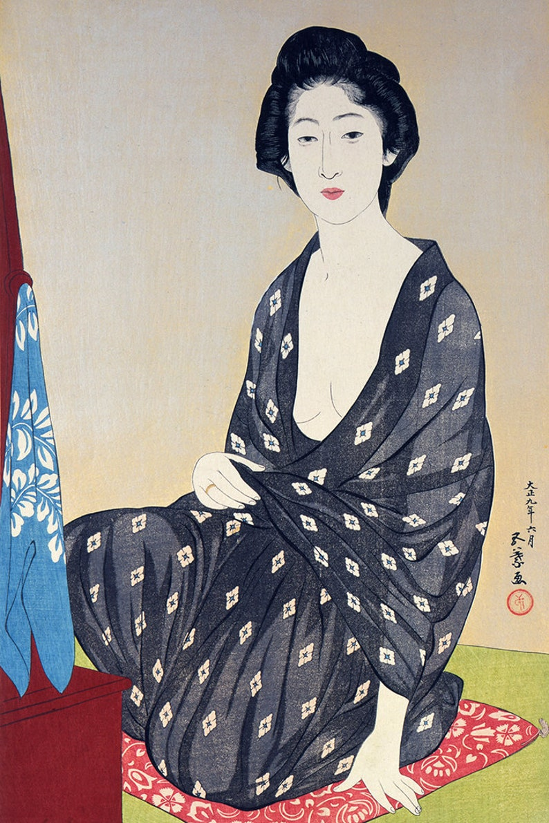 Des japanischen Holzschnitts