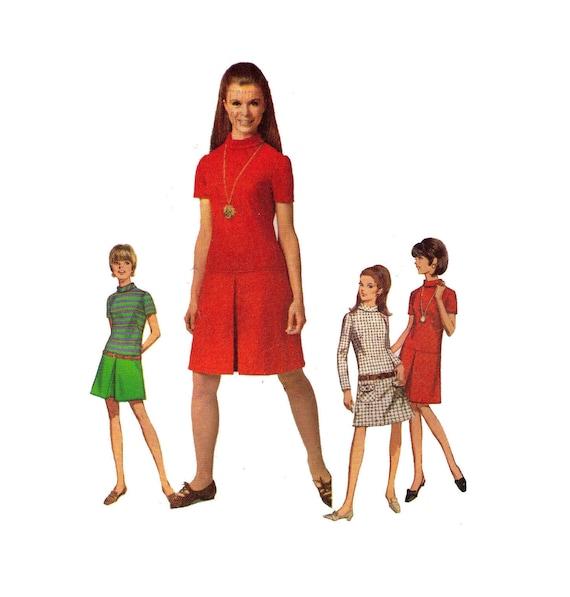 Einfachheit 7271 Nähen Größe 8 Büste 28 Mädchen Kleid   Etsy