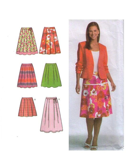 Einfachheit 4703 Schnittmuster Größe 12-14 Frauenröcke | Etsy