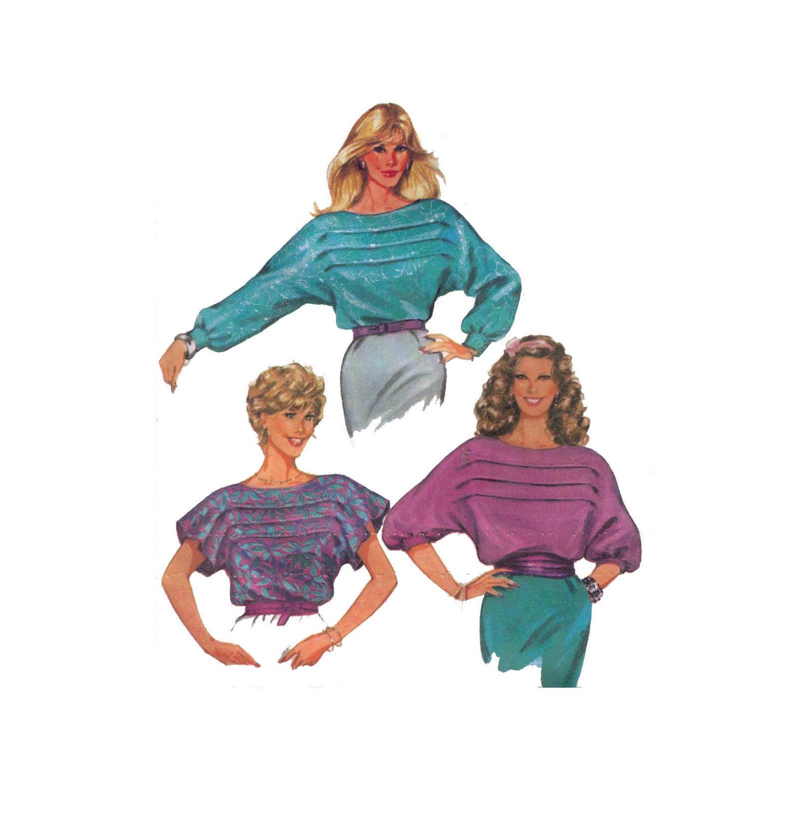 Unbeschnittenen Burda 6980 Schnittmuster Größe 8-20 Frauen