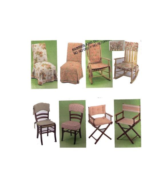 Einfachheit 5952 Schnittmuster Muster Wohnkultur Stuhl | Etsy