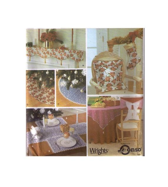 Uncut Simplicity 4846 Sewing Pattern Christmas Home Decor