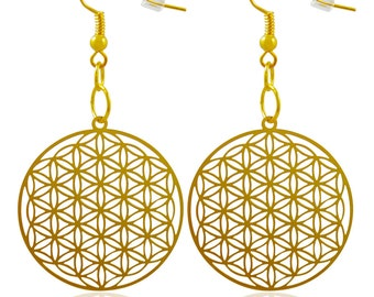 Flower of Life Earrings  'Buy One Get Another Design for Free'  ER-01