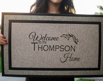 Quick View. Custom Doormat ...