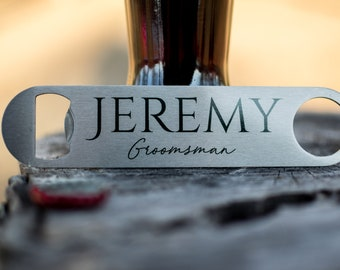 Bottle Opener Favor Personalized, Bar Tools, Bartender Bottle Opener Custom, Bottle Opener, Beer Opener Personalized