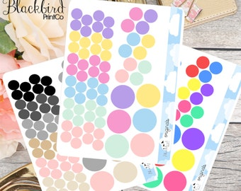 Dot Planner Stickers [BR0002]