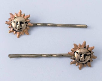 Sun Hair Pin, Sun Hair Bobby pin ,Sun hair Pick