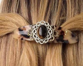 Metal hair sticks Hair sticks beaded Copper hair pin stick Wedding hair pins Copper hair accessories birth stone jewelry Gemstone tigers eye