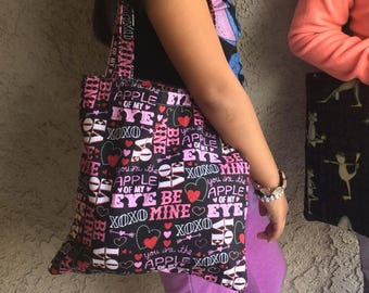 Lined Shopping Bag Tote