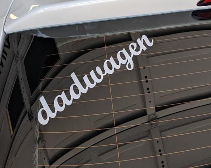 dadwagen vinyl decal sticker