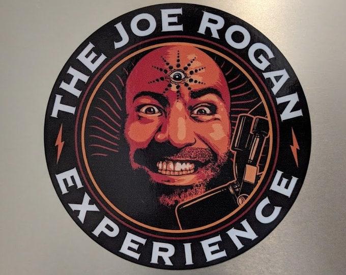 Custom vinyl decal round The Joe Rogan Experience