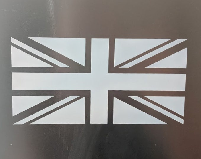 UK flag vinyl decal sticker