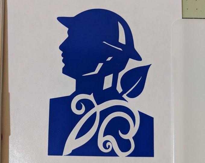 """Doughboy vinyl decal sticker 2.5"""" inch wide"""