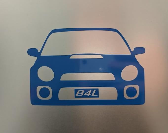 B4L Bugeye's 4 Life vinyl decal sticker