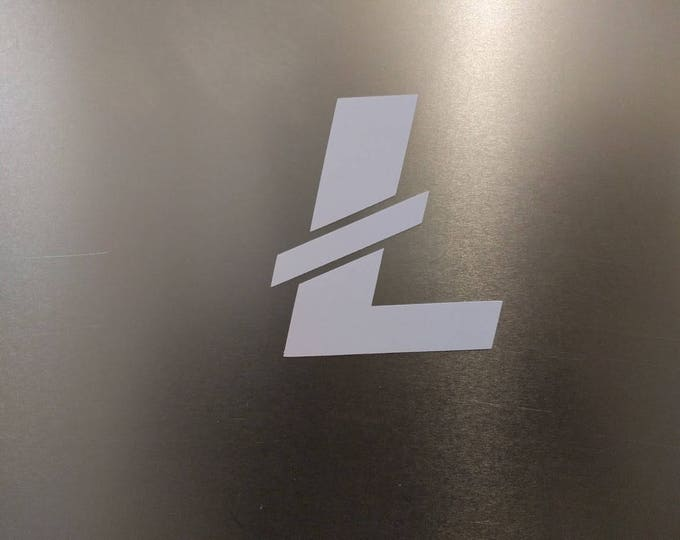 LTC Litecoin Vinyl Decal Sticker