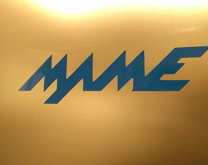MAME Vinyl decal sticker