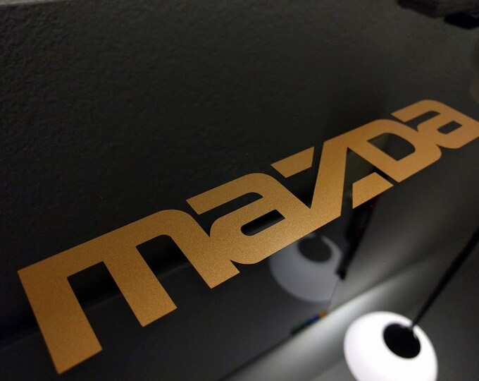 Mazda Decal Sticker
