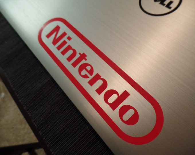 Arcade Logo NES Vinyl Decal Sticker