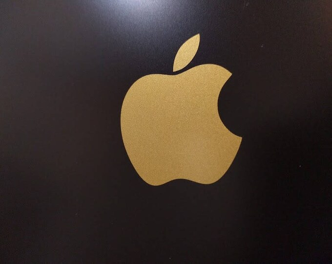Apple iphone Logo Vinyl Decal Sticker *Read Description please