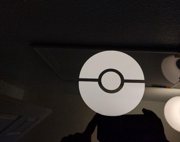 Pokemon Go Pokeball Vinyl Sticker Decal