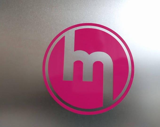 1960's Mazda Round Logo Vinyl Decal Sticker