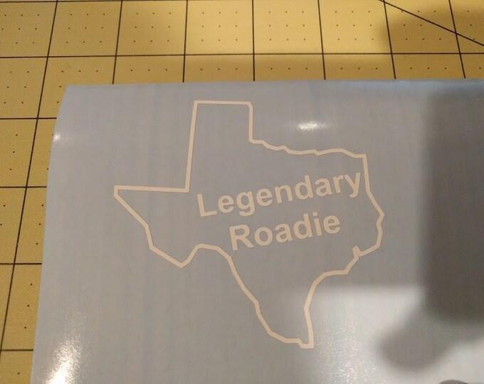 Texas Roadhouse Legendary Roadie Texas shape