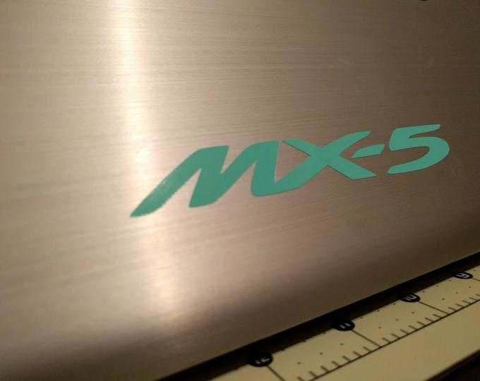 Miata MX-5 MX5 Decal Sticker