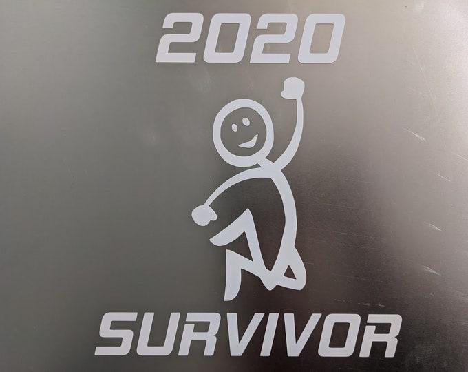 2020 Survivor vinyl decal sticker