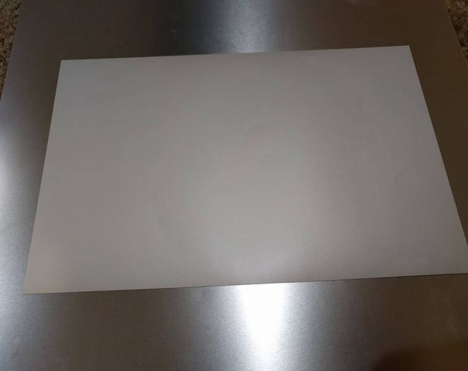 3M 1080-SP10 Satin Pearl White Vinyl sample piece