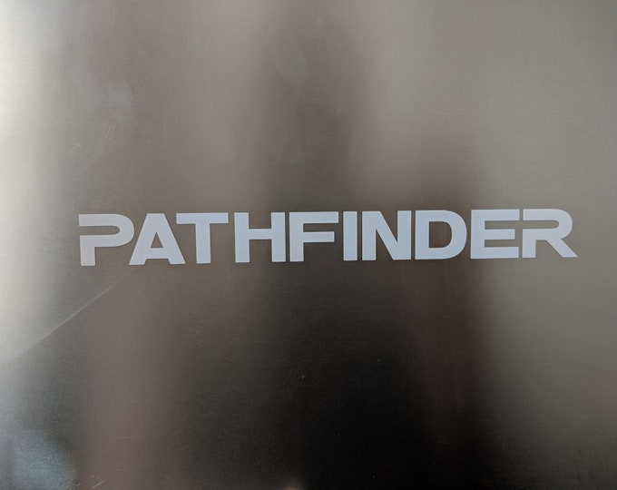 PATHFINDER Decal Sticker