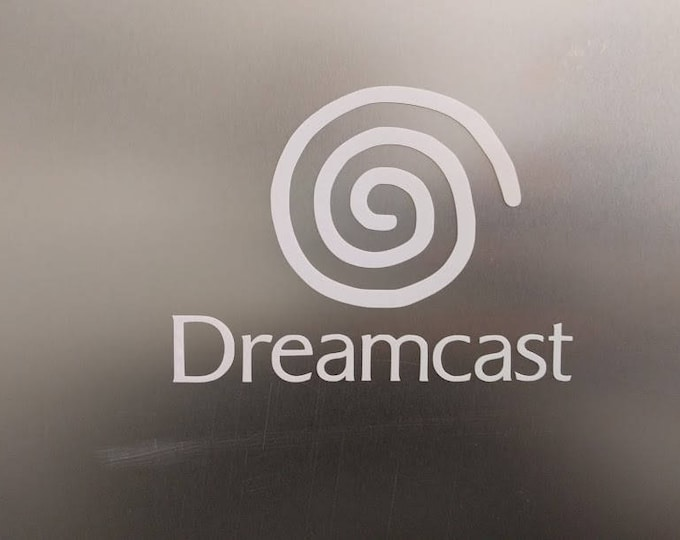 Sega Dreamcast logo vinyl decal sticker