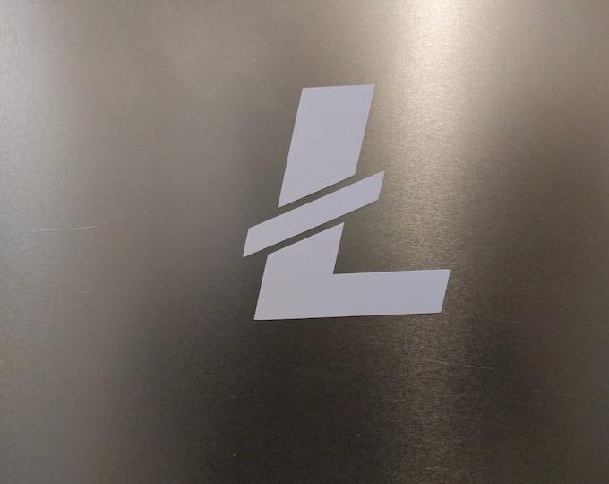 LTC Litecoin Vinyl Decal Sticker