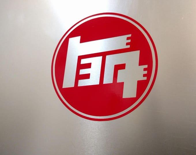 1930's TEQ Logo Decal Sticker