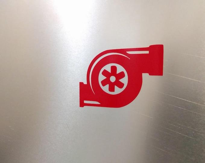 Turbo Vinyl decal sticker
