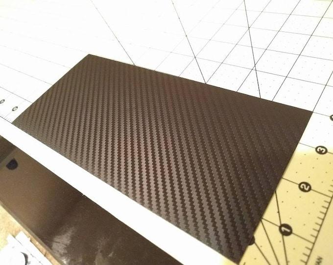 3M 2080 Black Textured Carbon Fiber