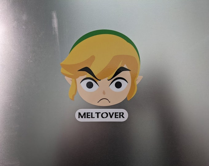 MELTOVER printed decal
