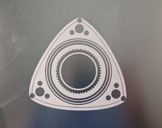 Rotary Rotor Vinyl decal sticker