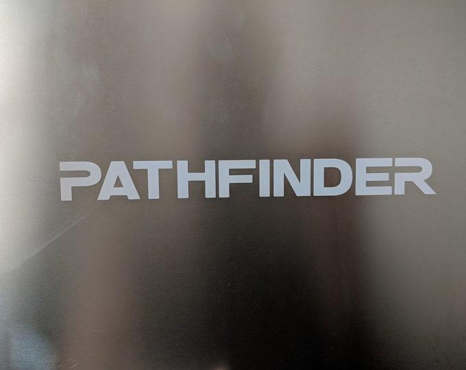 PATHFINDER Decal Sticker