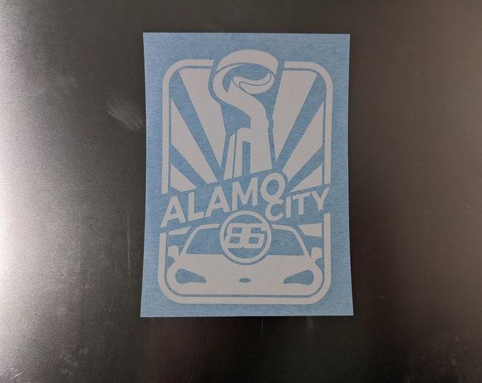 Alamo City 86 Club vinyl decal sticker