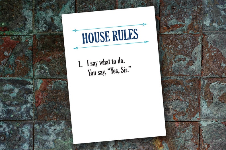 Rules bdsm slave Submissive Rules
