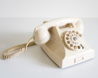 Retro Telephone Northern Telecom 1970/'s Home Decor Imagination Series Rotary Dial Phone
