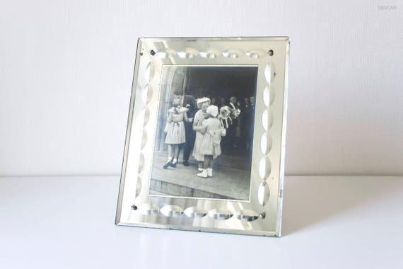 Vintage 1930s Large Art Deco Photo Picture Frame In Decorated Etsy