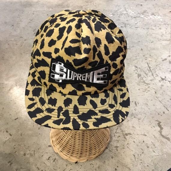 Supreme Leopard snapback