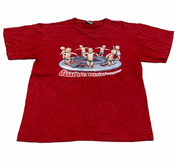 Vintage 00s Baby Dancing Animation Tee