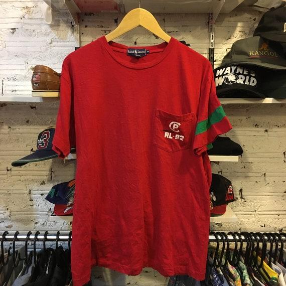 Vintage 90s Polo Stadium 1992 Ralph Lauren T shirt